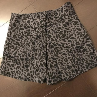 ジディー(ZIDDY)のZIDDY  レオパード柄 キュロット パンツ  1回着用(スカート)