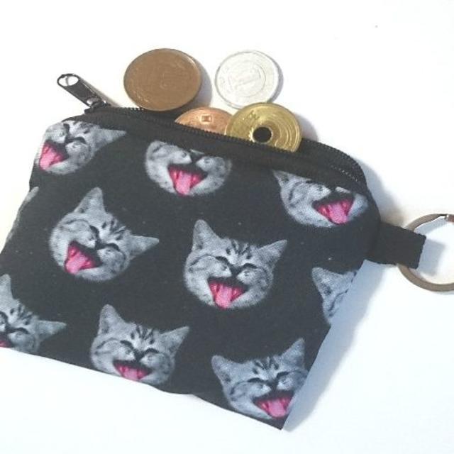 猫コインケース 猫ポーチ 小物入れ・小銭入れ♪ 新品未使用品 送料無料 その他のペット用品(猫)の商品写真