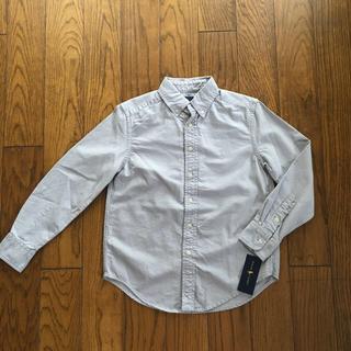 ラルフローレン(Ralph Lauren)のRalph Lauren新品ボーイズ用オックスフォードボタンダウンシャツ130(ブラウス)