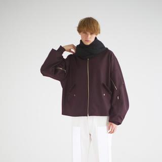コモリ(COMOLI)のURU TOKYO 17aw wool flight jacket(フライトジャケット)