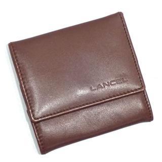 ランセル(LANCEL)のA481 中古 ランセル LANCEL レザー 小銭入れ コインケース(コインケース/小銭入れ)