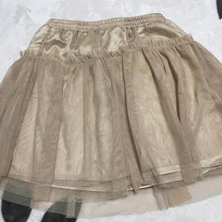 ジーユー(GU)のkidsスカート(スカート)