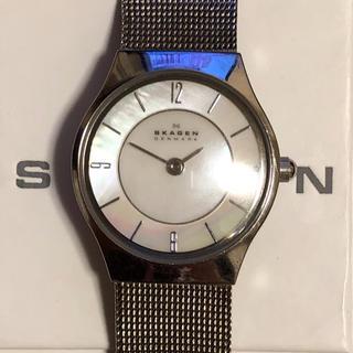スカーゲン(SKAGEN)のSKAGEN シルバーウォッチ(腕時計)