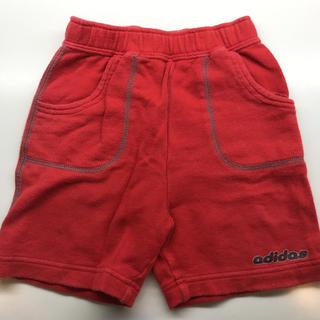 アディダス(adidas)のアディダス キッズ  ハーフパンツ 赤 90センチ(パンツ/スパッツ)