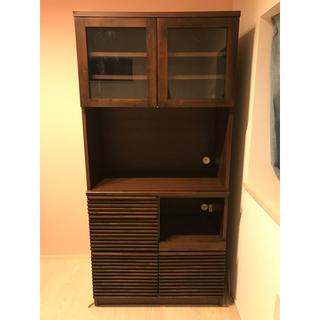 イデー(IDEE)のアジアン家具 エーフラット a.flat キッチンボード 食器棚(キッチン収納)