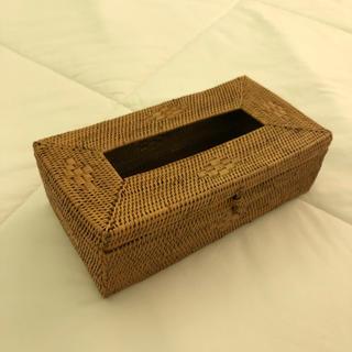 ロンハーマン(Ron Herman)のバリ島高級店アタ直輸入ティッシュボックス(ティッシュボックス)