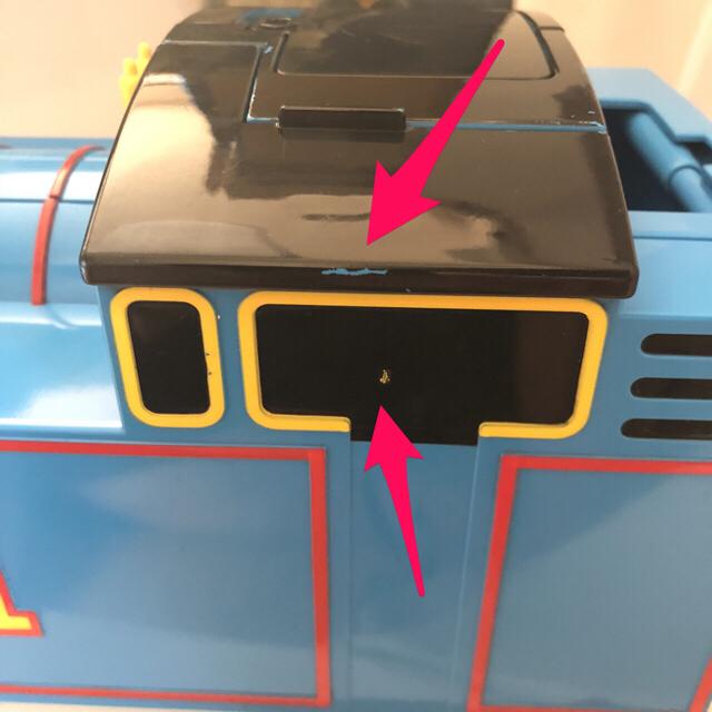 Takara Tomy(タカラトミー)のあそべるエンジン!ビッグ トーマス プラレール キッズ/ベビー/マタニティのおもちゃ(電車のおもちゃ/車)の商品写真