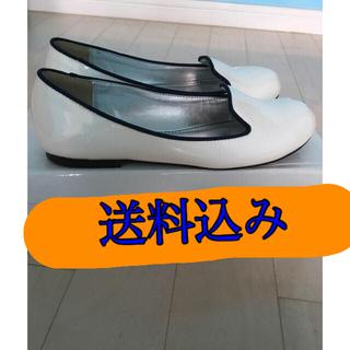 ウルラ(Ulula)の[Ulula][新品][値下げ可]ローファー[白](ローファー/革靴)