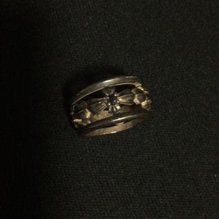 Libra 指輪 シルバー 950  ブルーサファイア 4石(リング(指輪))