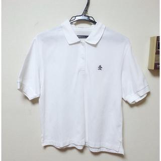 マンシングウェア(Munsingwear)のマンシングウェア ホワイトポロシャツ(ポロシャツ)