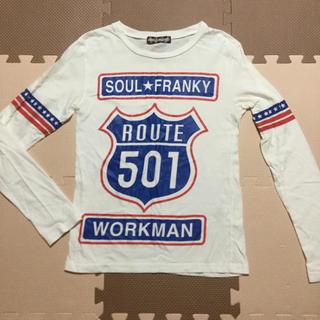 ソウルフランキー(SOUL FRANKY)のmen's 長袖【Sサイズ】SOUL FRANKY(Tシャツ/カットソー(七分/長袖))