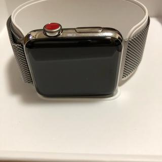 アップルウォッチ(Apple Watch)のApple Watch Series 3 (腕時計(デジタル))