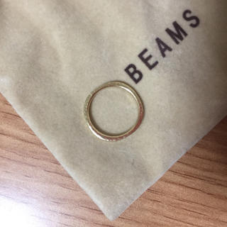 デミルクスビームス(Demi-Luxe BEAMS)の【デミルクス ビームス】MASATO INOUE/ピンキーリング/K18(リング(指輪))