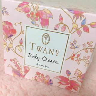 トワニー(TWANY)の【お値下げ】トワニー ボディクリーム フラワーガーデン(ボディクリーム)