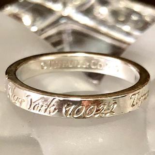 ティファニー(Tiffany & Co.)のノーツナローリング 12.5号(リング(指輪))