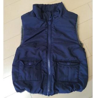 ムジルシリョウヒン(MUJI (無印良品))の無印良品 アウター ダウンベスト 子供服 サイズ100(ジャケット/上着)