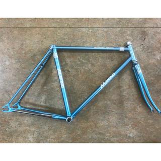 【中古 NJSピスト競輪選手用】MAKINO マキノピストフレーム 520mm(自転車本体)