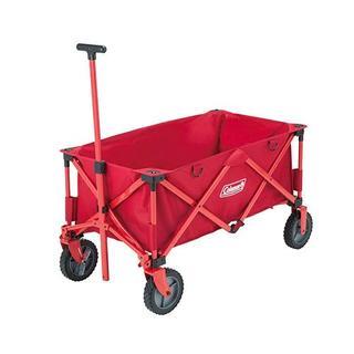 コールマン(Coleman)の荷物を楽々運べる簡単収束型アウトドアワゴン 2000021989(その他)