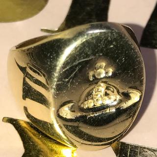 ヴィヴィアンウエストウッド(Vivienne Westwood)の値下げ ヴィヴィアン ゴールド シールリング S(リング(指輪))