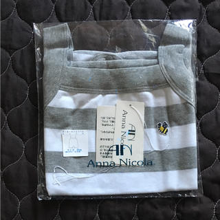アンナニコラ(Anna Nicola)のアンナニコラ ボーダーキャミソール ロンパース 80(ロンパース)