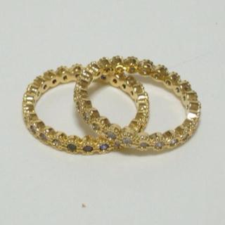 新品☆キュービックジルコニアリング 9号(リング(指輪))