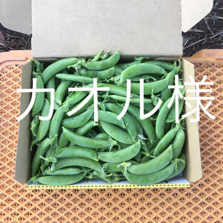 鹿児島産スナップエンドウ1キロ^_^(野菜)