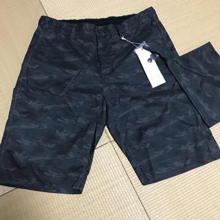 イッカ(ikka)の新品 タグ付き メンズ ハーフパンツ 海パン 迷彩 L  水着(その他)