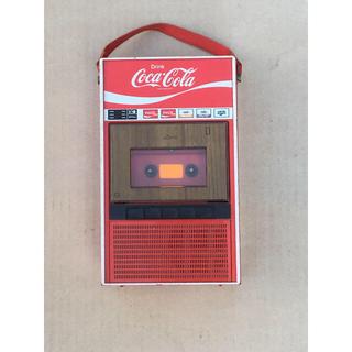 コカコーラ(コカ・コーラ)のコカコーラ 自動販売機型 カセットプレーヤー(ノベルティグッズ)