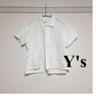 ヨウジヤマモト(Yohji Yamamoto)の期間限定値下げ‼️Y's SH(シャツ/ブラウス(半袖/袖なし))