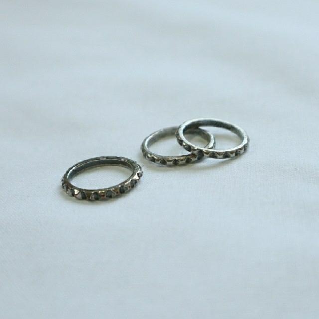 moussy(マウジー)のmoussyRing 3連リング レディースのアクセサリー(リング(指輪))の商品写真