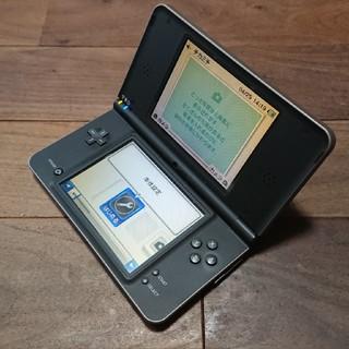 ニンテンドーDS(ニンテンドーDS)の完動品DSiLL本体ダークブラウンVer1.4J送料込(携帯用ゲーム機本体)