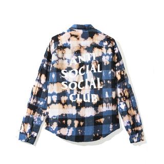 アンチ(ANTI)のAnti Social Social Club シャツ18ssL新品正規品(シャツ)