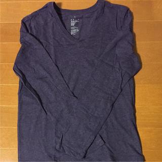 ムジルシリョウヒン(MUJI (無印良品))の超美品!超特価!MUJI長袖VネックTシャツ(Tシャツ(長袖/七分))