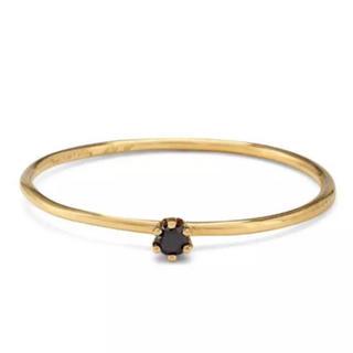 トゥモローランド(TOMORROWLAND)のkinako様専用 satomi kawakita k18 ブラックダイヤリング(リング(指輪))