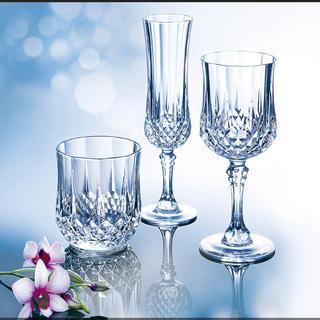 クリスタルダルク(Cristal D'Arques)の新品 クリスタルダルク ロンシャン オールド グラス 320ml 6客セット(グラス/カップ)