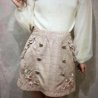 リズリサ(LIZ LISA)のリズリサ LIZ LISA  チェック台形スカート(ひざ丈スカート)