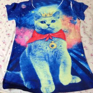 ファンキーフルーツ(FUNKY FRUIT)の海月様 Tシャツ ファンキーフルーツ 猫(Tシャツ(半袖/袖なし))
