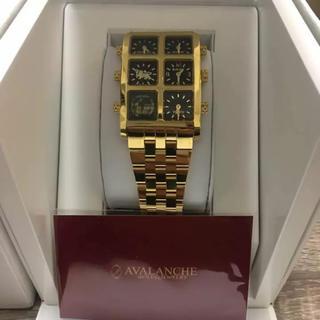 アヴァランチ(AVALANCHE)の★美品★ IceLink Genaration avalanche  腕時計(腕時計(アナログ))