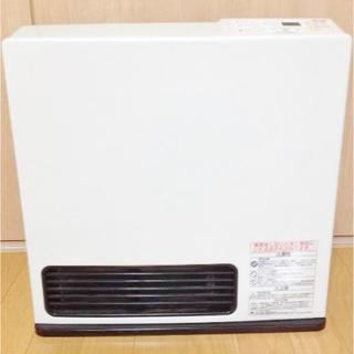 リンナイ(Rinnai)のなーおくん様専用 リンナイ 2011年 大型ガスファンヒータ白 ホース付(ファンヒーター)
