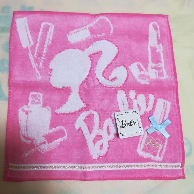 8533bc56c612a8 Barbie(バービー)の新品 BARBIE バービー ミニタオル レディースのファッション小物(ハンカチ