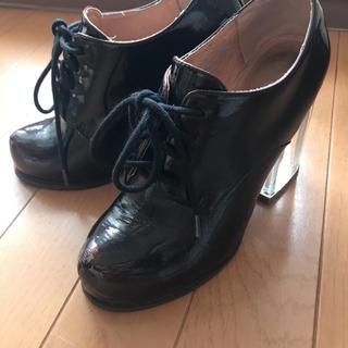 ジェフリーキャンベル(JEFFREY CAMPBELL)のJeffrey Campbell クリアヒールブーツ(ローファー/革靴)