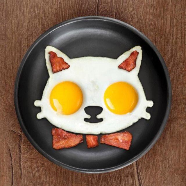 猫 猫調理器具 猫目玉焼きプレート 新品未使用品 送料無料♪ その他のペット用品(猫)の商品写真