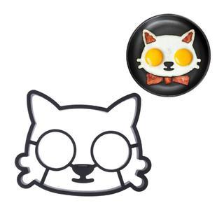 猫 猫調理器具 猫目玉焼きプレート 新品未使用品 送料無料♪(猫)