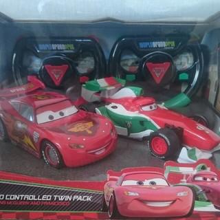 ディズニー(Disney)のカーズ2 ラジコン ツインパック 未開封(ホビーラジコン)