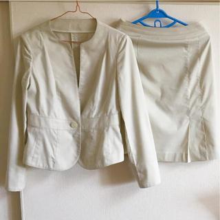 ナチュラルビューティーベーシック(NATURAL BEAUTY BASIC)のFIGNO 春夏ベージュスーツ(スーツ)