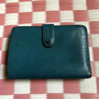 ルイヴィトン(LOUIS VUITTON)のルイヴィトン エピ ブルー 正規品 ジャンク(財布)