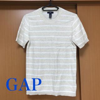 ギャップ(GAP)のGAP ギャップ メンズ 半袖 サマーニット XXSサイズ(ニット/セーター)