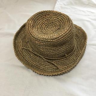 ムジルシリョウヒン(MUJI (無印良品))のカンピ草 ハット 帽子 無印良品(麦わら帽子/ストローハット)