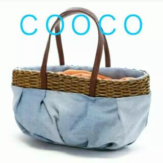 クーコ(COOCO)のCOOCOデニムバック(トートバッグ)