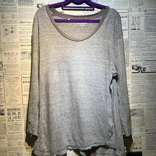 ノンネイティブ(nonnative)のnonnative ノンネイティブ 7分丈Tシャツ サイズ2(Tシャツ/カットソー(七分/長袖))